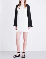 Drifter Catriona linen and silk-blend dress