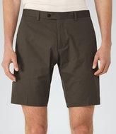 Reiss Reiss Statten S - Tailored Shorts In Brown, Mens