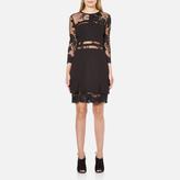 Three floor Women's Parallel Dress Black