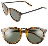 Karen Walker Women's Alternative Fit Harvest 59Mm Retro Sunglasses - Black
