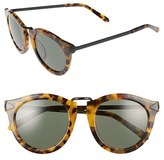 Karen Walker Women's Alternative Fit Harvest 59Mm Retro Sunglasses - Crazy Tortoise