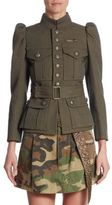 Marc Jacobs Wool Military Jacket