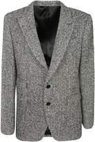 Dolce & Gabbana Chevron Pattern Blazer
