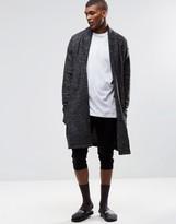 Asos Loungewear Cropped Skinny Joggers In Black