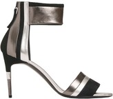 Pierre Hardy alpha sunny skinny sandal silver