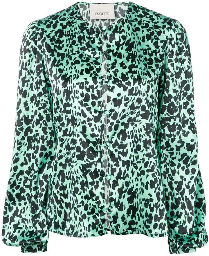 fa971f13c275 Green Leopard Print Top - ShopStyle