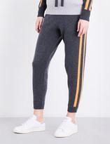 Zoe Jordan Zanzi skinny wool and cashmere-blend jogging bottoms