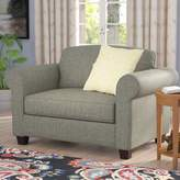 Andover Mills Serta Upholstery Blackmon Convertible Chair and a Half