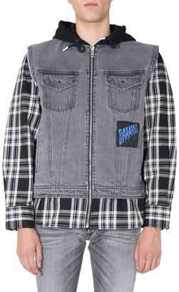 Diesel J-Ruben Layered Hooded Jacket