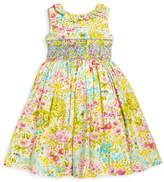 Luli & Me Garden Smocked Dress