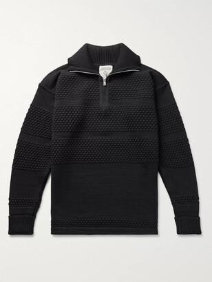 S.N.S. Herning Virgin Wool Half-Zip Sweater