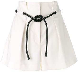 3.1 Phillip Lim Origami-Pleated Short