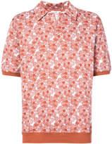 Cmmn Swdn floral print polo shirt