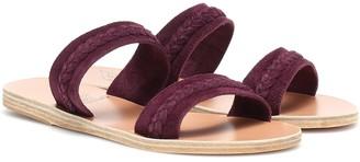 Ancient Greek Sandals Melissanthi suede sandals