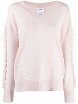 Thumbnail for your product : Barrie V-neck cashmere jumper
