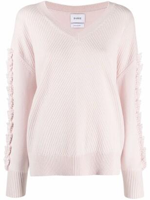 Barrie V-neck cashmere jumper