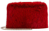 Oscar de la Renta Rogan Mink Fur Box Clutch Bag