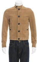 Burberry Dual Pocket Suede Jacket
