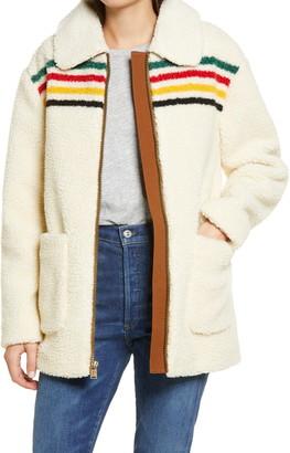 Pendleton Glacier Sunset Fleece Coat
