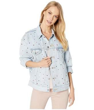 Levi's Premium Premium Dad Trucker (Showgirl) Women's Clothing