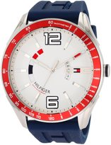 Tommy Hilfiger Men's Sport Blue Silicon Watch 1790800