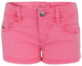 Diesel Neon Pink Denim Shorts