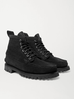 Yuketen Angler Textured-Leather Boots