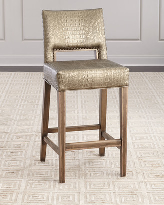 Old Hickory Tannery Avery Bar Stool