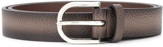 Orciani Pebbled Leather Belt