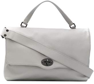 Zanellato postman lock oversized tote bag