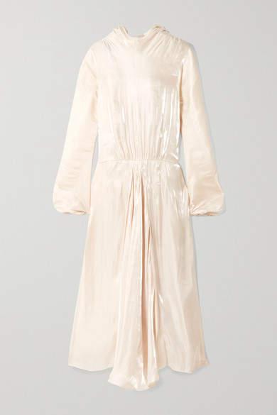 Prada Silk-charmeuse Gown - Ivory