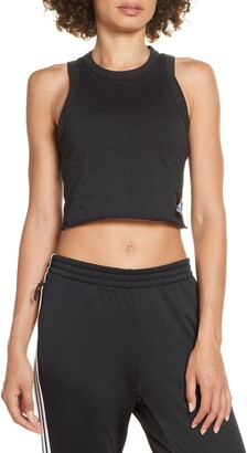 adidas 3-Stripes Crop Tank Top