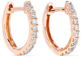Anita Ko Huggies 18-karat Rose Gold Diamond Earrings