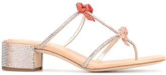 Rene Caovilla Caterina rhinestone sandals