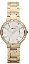 Fossil Women's 'Virginia' Crystal Accent Bracelet Watch, 30Mm