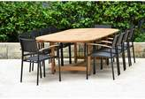 International Home Miami 11 Piece Teak Dining Set