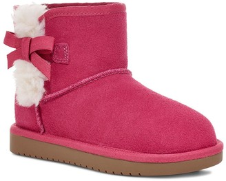 Koolaburra by UGG Kids' Suede Bow Mini Boots - Victoria