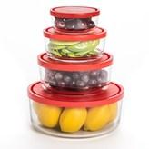 Bormioli Gelo Glass Storage Bowls- Set of 4