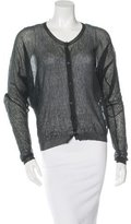 Lanvin Sheer Knit Cardigan