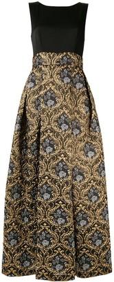 Paule Ka baroque bow back gown