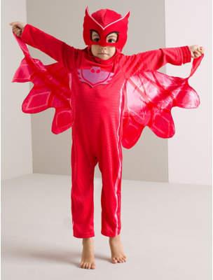 George PJ Masks Owlette Fancy Dress Costume