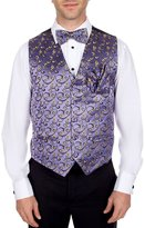 Buy Your Ties Men's Fashion Pattern Formal Vest Bow Tie and Hanky Set