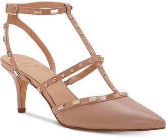 INC International Concepts Inc Carma Pointed Toe Studded Kitten Heel Pumps, Women Shoes