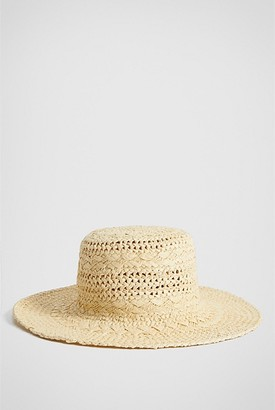 Witchery Hand Woven Bucket Hat