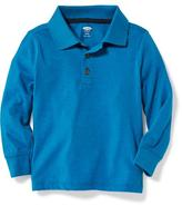 Old Navy Long-Sleeve Polo for Toddler