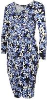 Isabella Oliver Aubrey Print Maternity Dress
