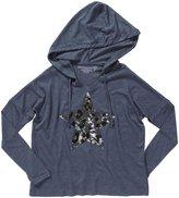 Design History Hooded Top (Toddler/Kid) - Kitten Gray-X-Large
