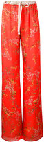 Alexis floral print palazzo trousers - women - Polyester - M