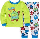 LICENSED PROPERTIES Boys 2-pc. Long Sleeve Kids Pajama Set-Toddler