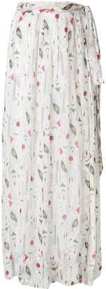Etoile Isabel Marant long printed skirt